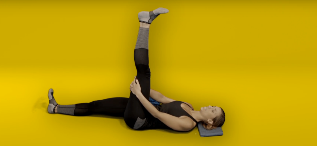 Knee pain exercises - hamstring stretch