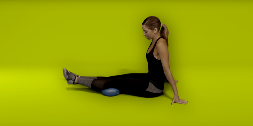 Knee replacement recovery exercises - inner range quads