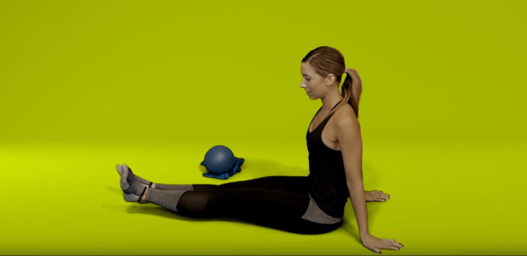 Knee pain exercises - straight leg raise