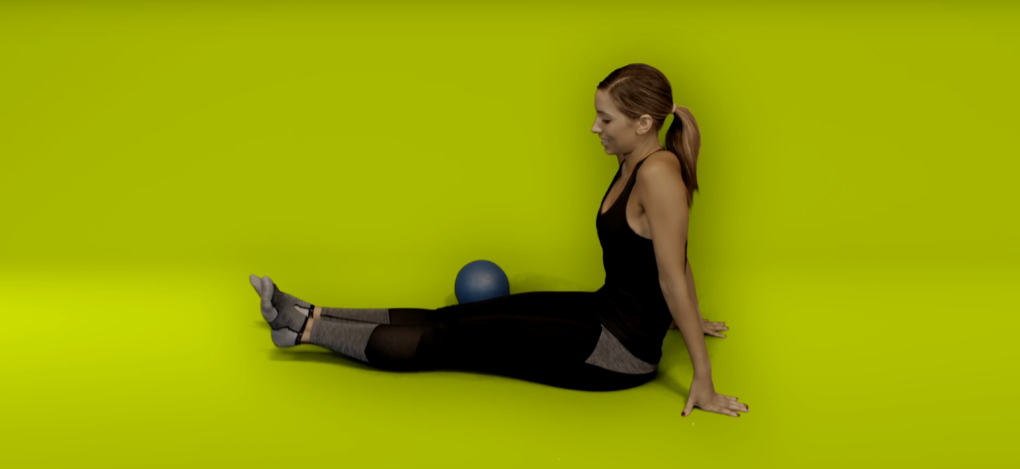 Knee recovery replacement exercises - straight leg raise