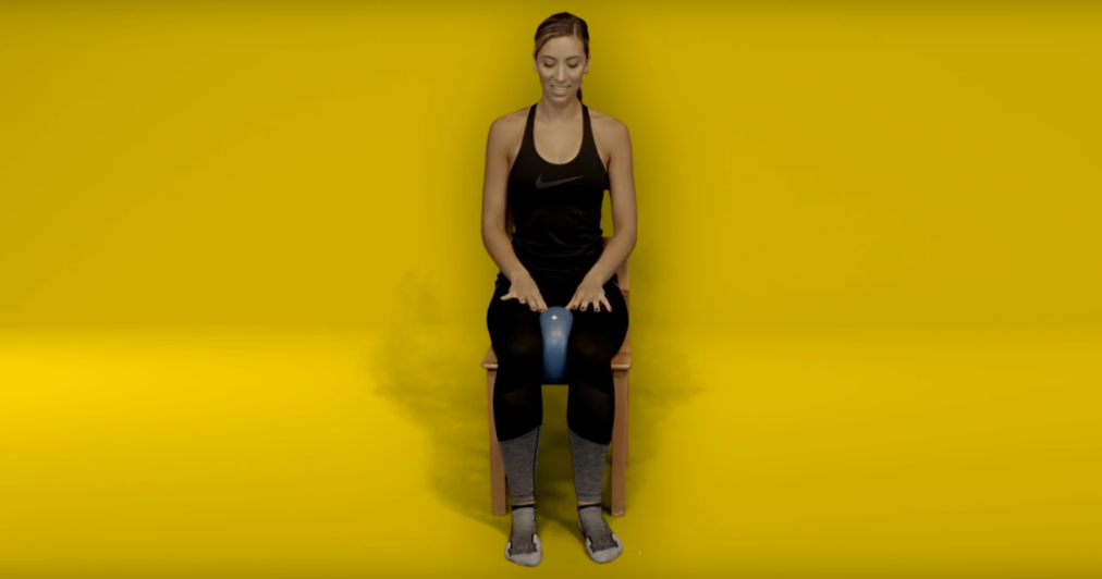Knee replacement recovery exercises - Adductor (inner thigh muscle)