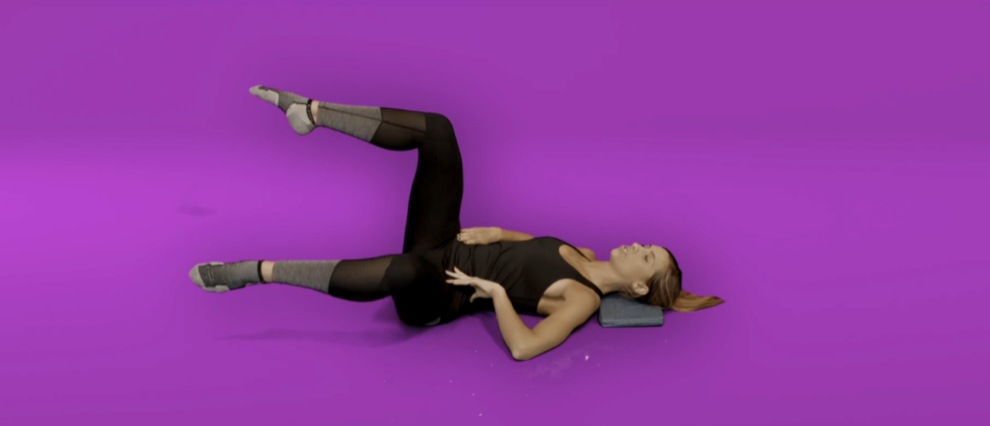 Hip pain exercises - single leg hip openers