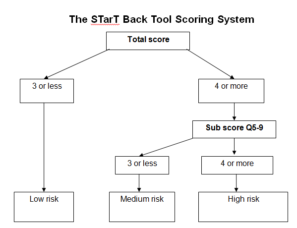 Startback flowchart