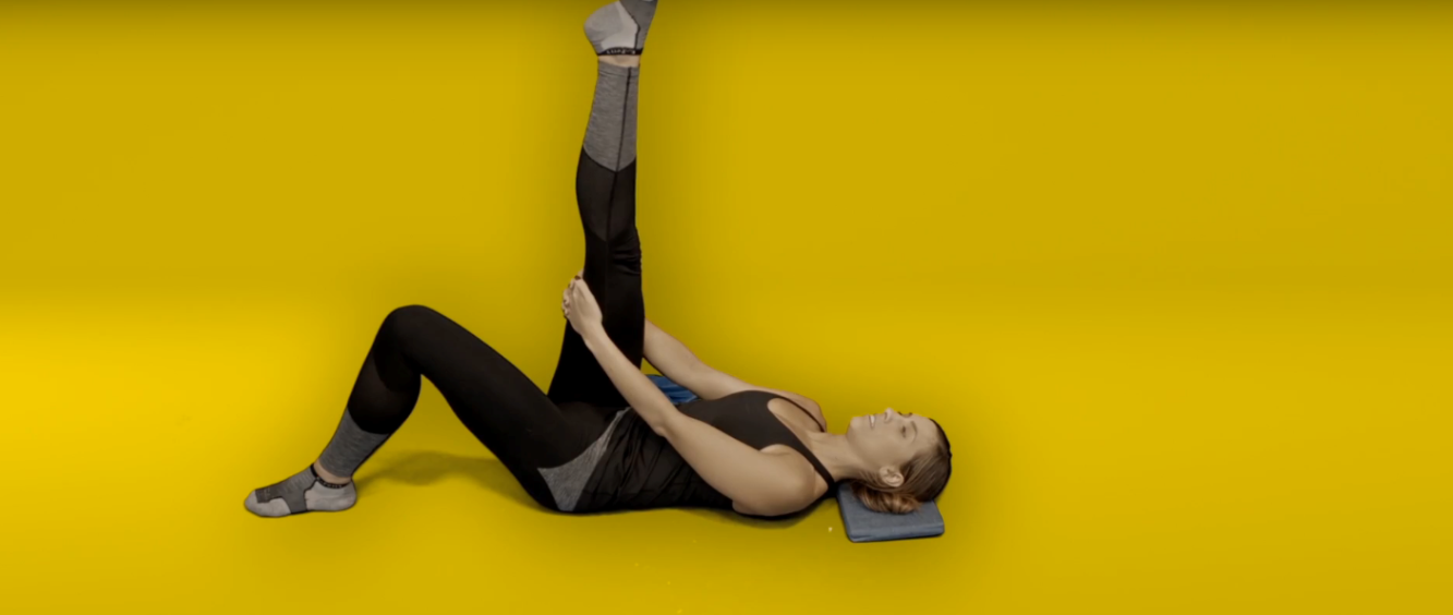 Hip pain exercises - hamstring stretch