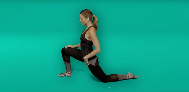 Hip pain exercises - hip flexor stretch